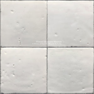 A Jeweled Majolica Wall Tile Collection -Vecchio Blanco