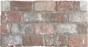 Reclaimed Veneer Belgian Brick for Focal Walls
