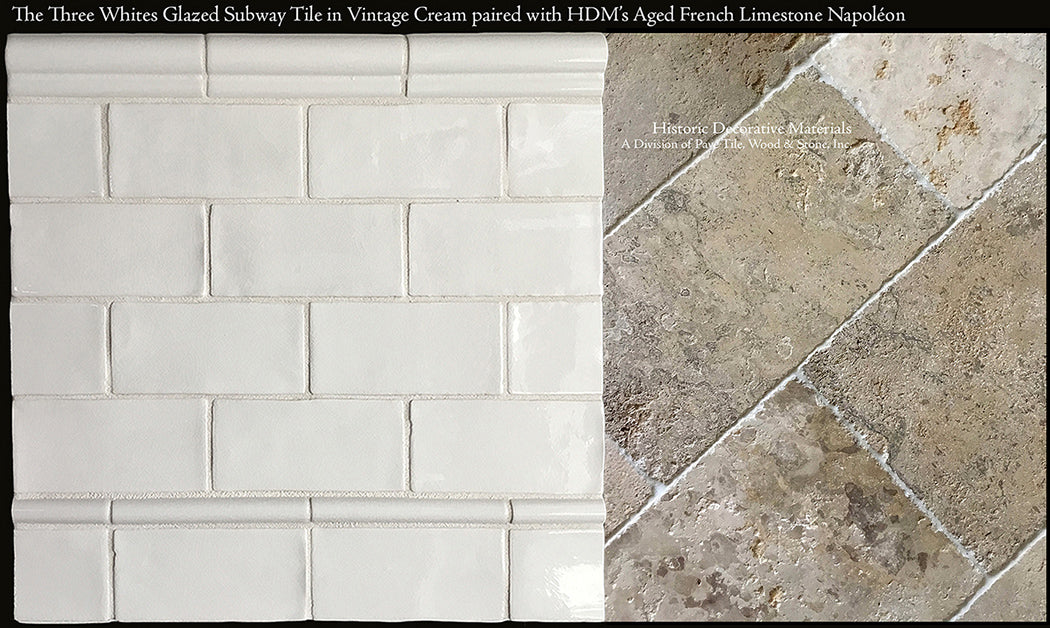Napol 233 On Aged French Limestone Flooring Historic