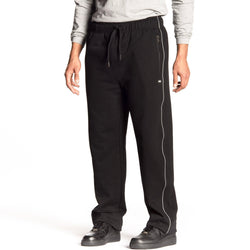 French Terry Pants with Reflective Piping