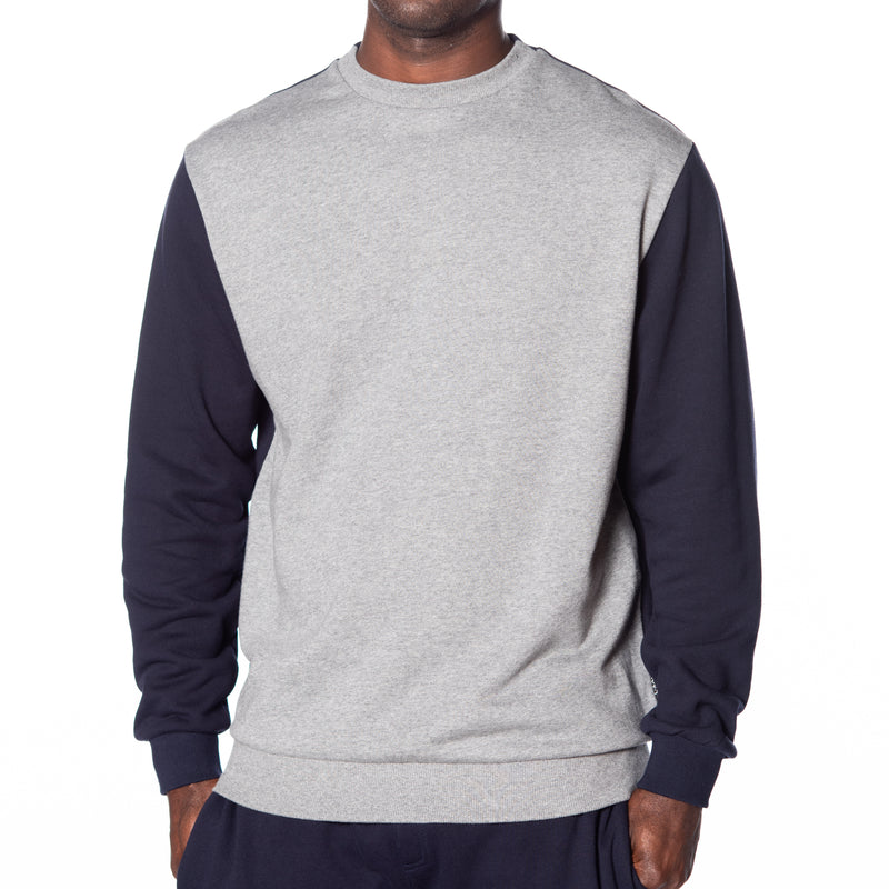 Color Block French Terry Pullover