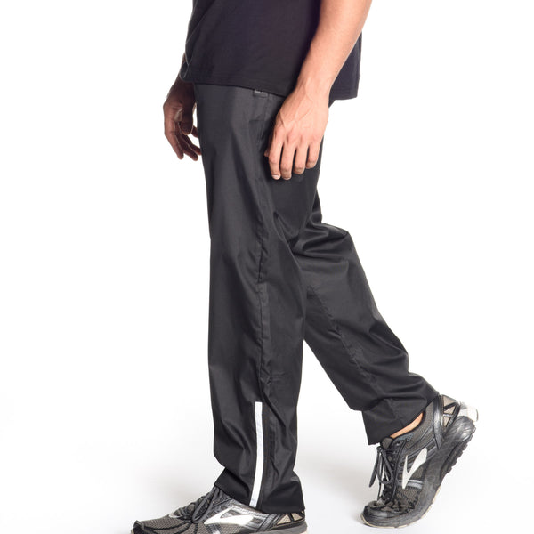 Lightweight Nylon Pants with reflective taping