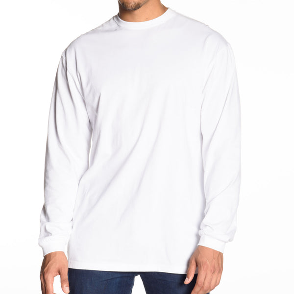 Classic Crew Neck Long Sleeve T-Shirt