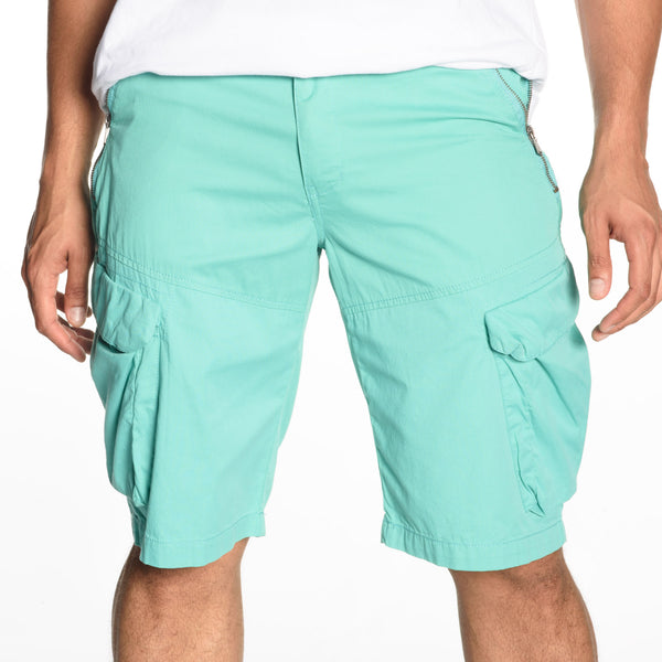 Zip Pocket Cargo Shorts