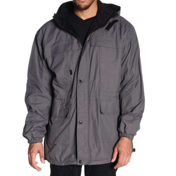 Polar Fleece Nylon Parka