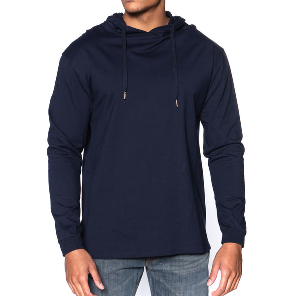 Classic Long Sleeve Hooded T-Shirt