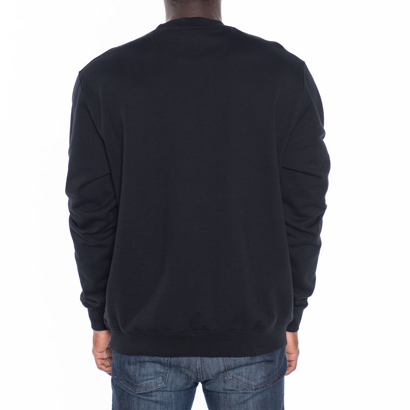 French Terry Crew Neck Pullover