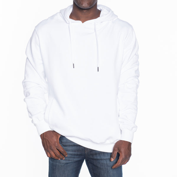 Basic French Terry Pullover Hoodie