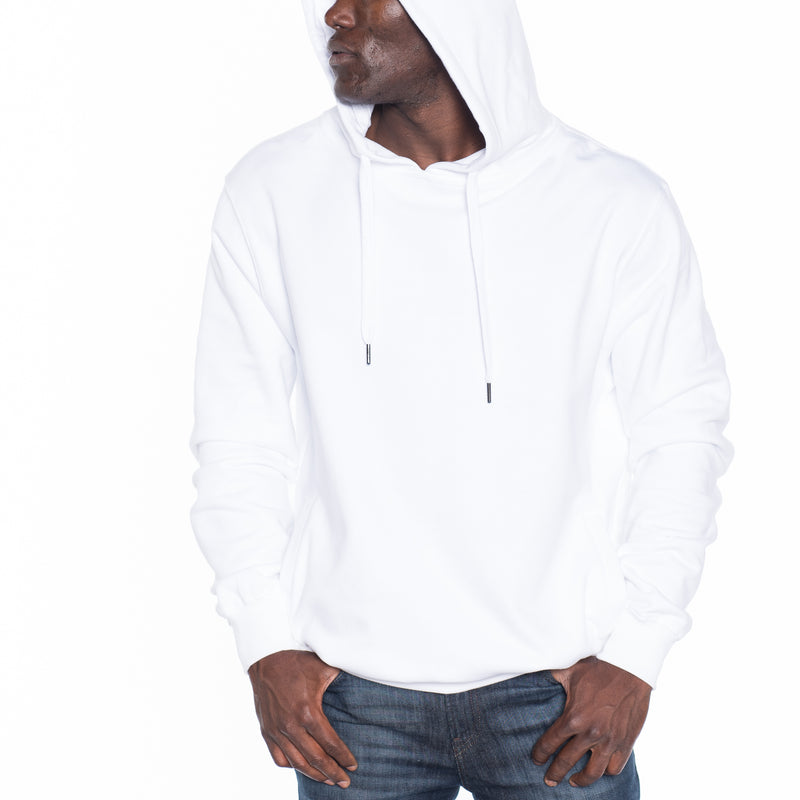 French Terry Pullover Hoodie