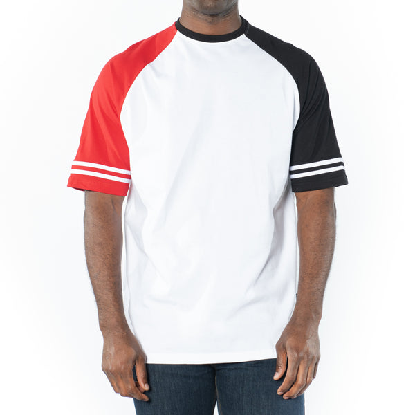 Striped Raglan T-Shirt