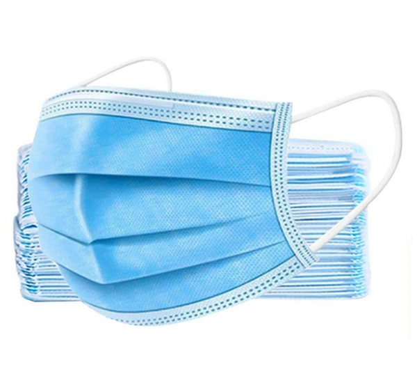 Disposable Masks (BA) <br>  50 pk - $.40 per unit
