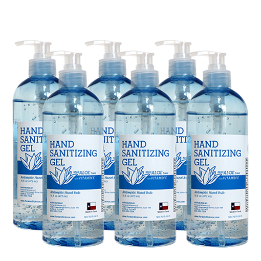 16oz. 6pk - Gel <br> FS Hand Sanitizer