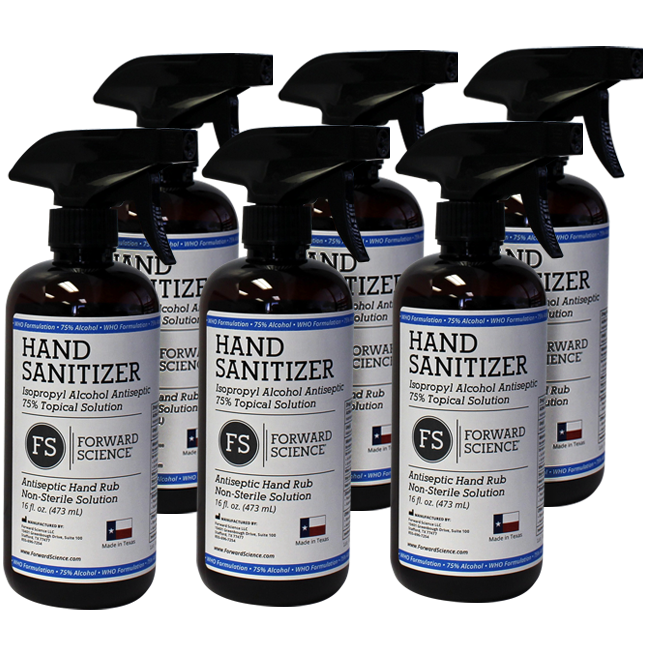 6-Pack FS Hand Sanitizer