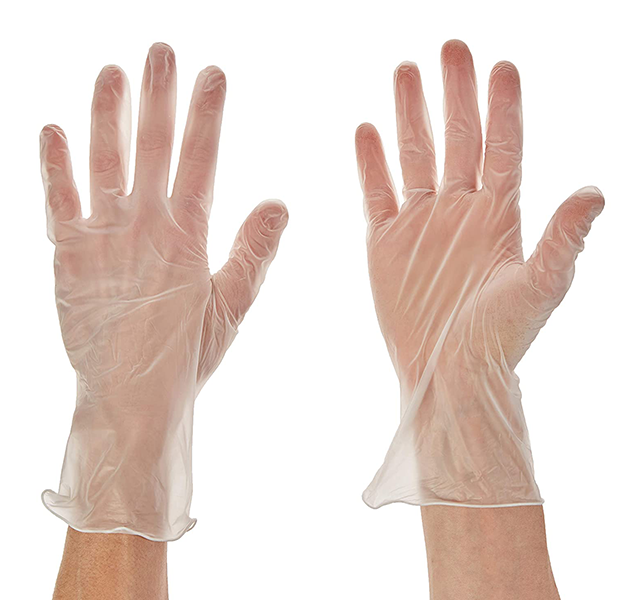 Vinyl Gloves - Small  (GPX3) <br>  100 pk - $.10 per unit