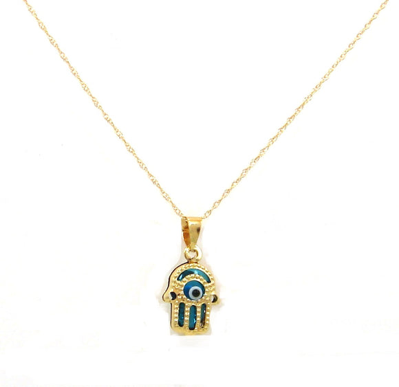 14KT Evil eye charms