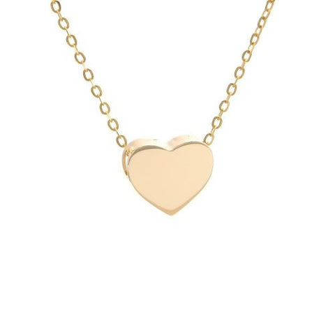 14 KT Gold Heart necklaces