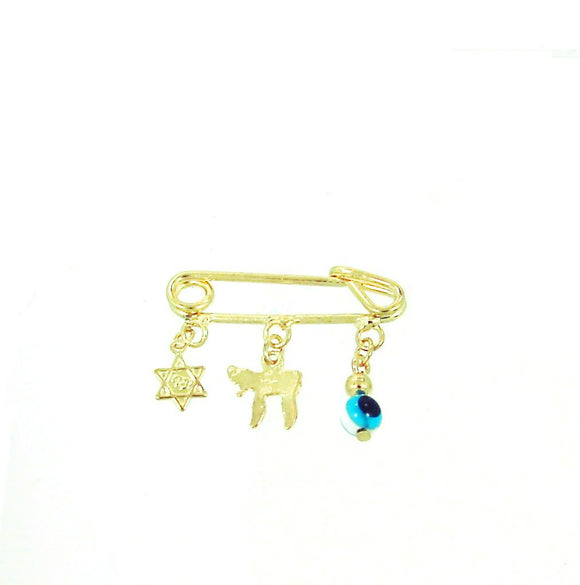 GF Diaper Pin Hebrew