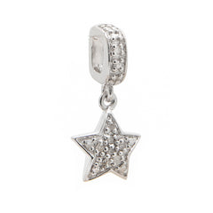 SOSO Diamond Star slide on Dangle