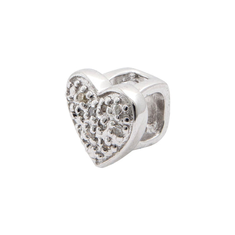 SOSO Diamond Heart Symbol slide on standard