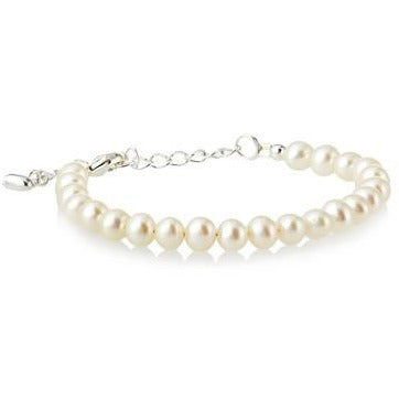 Baby pearl bracelet with extender