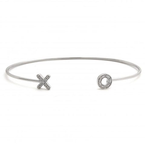 XO Skinny Diamond Bangle Bracelet