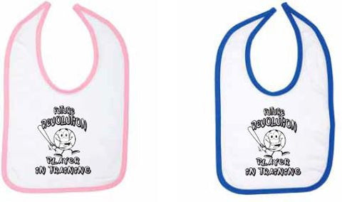 Toddler, Bib, Pink/Navy