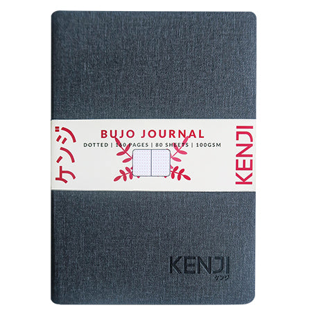 Bujo Line Notebook - Canvas Black