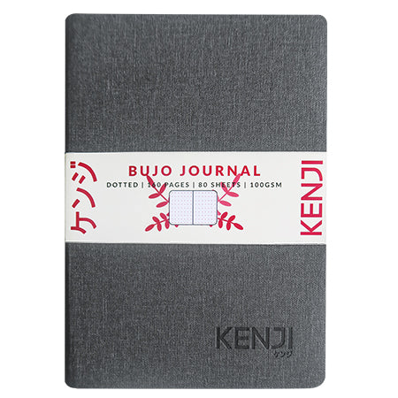 Bujo Line Notebook - Canvas Grey