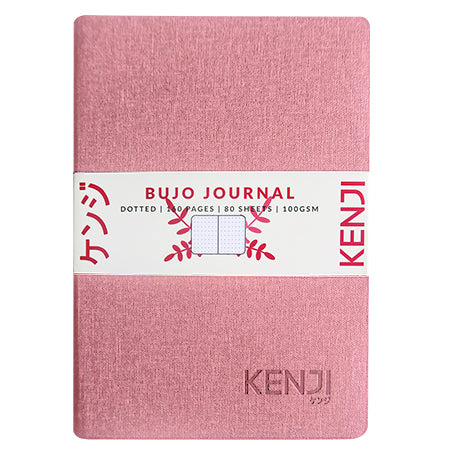 Bujo Line Notebook - Canvas Pink