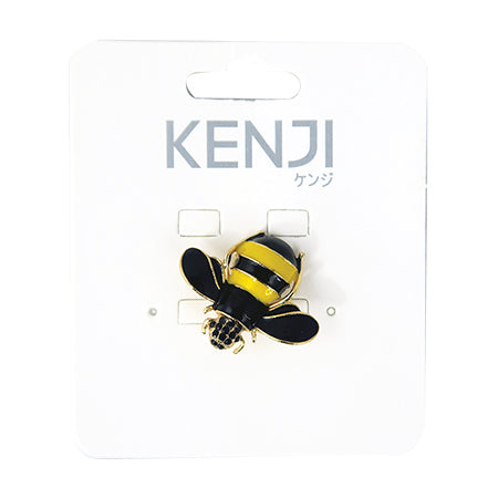 Metal Pin Badge Bee - Baby