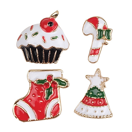 Metal Pin Badge - 4 Cupcake