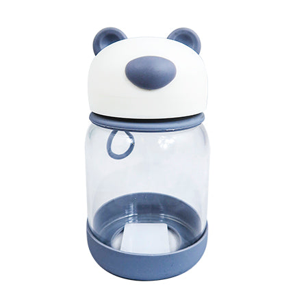Joso Glass Bottle - Bear 300ML-Grey