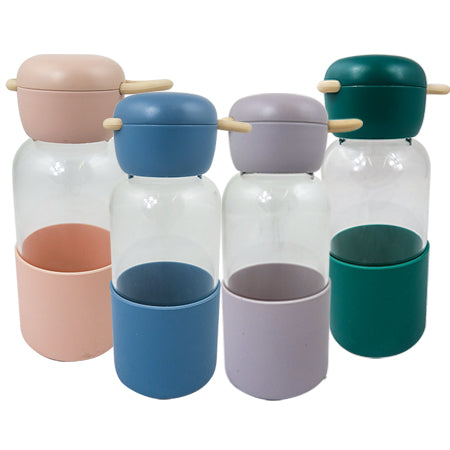 Joso Glass Bottle Silicone 350ML