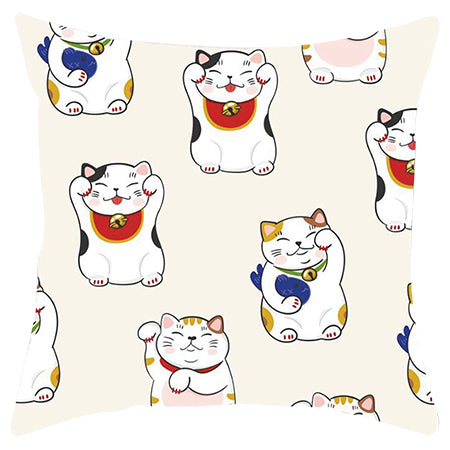 Cushion cover - Lucky Cat