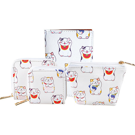 Muko Rect Pouch - Lucky Cat