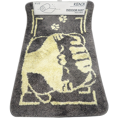 Indoor Mat 50x80 - Grey Cat