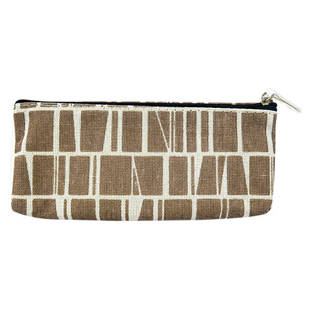 Miura Pencil Case Round - Brown