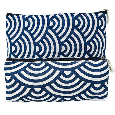 Miura Pencil Case Flat - Blue
