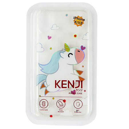 Oshu Phone Case - Unicorn Hop - X/XS