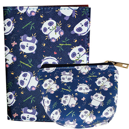Muko Passport Holder - Panda