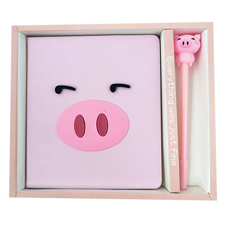 Piggy Notebook Set