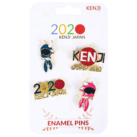 Metal Pin Badge 4pcs - 2020 Cycle