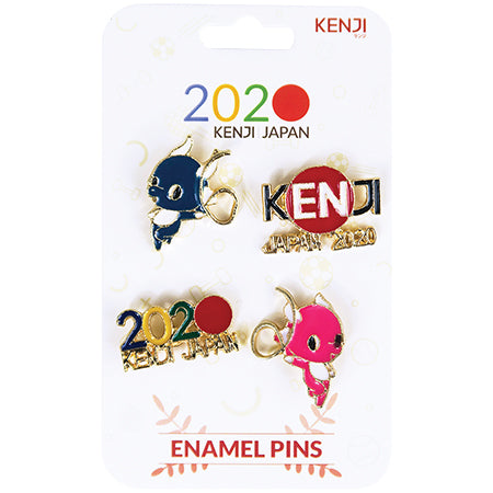 Metal Pin Badge 4pcs - 2020 Gymnast