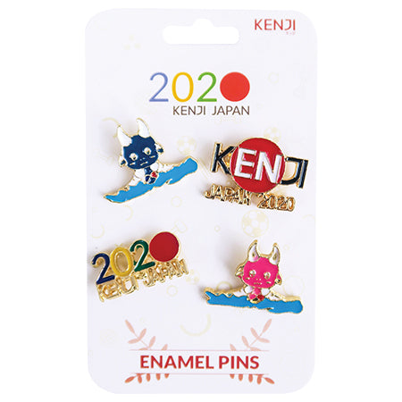 Metal Pin Badge 4pcs - 2020 Row
