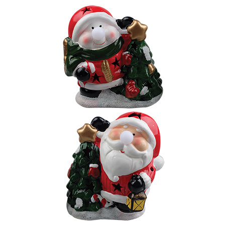 Xmas Oversized LED Figurine with Tree