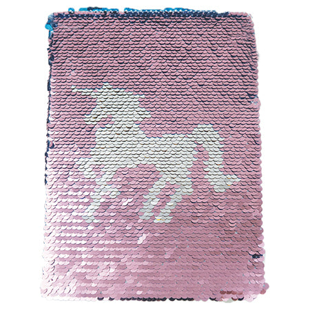 Shiny Notebook - White Unicorn
