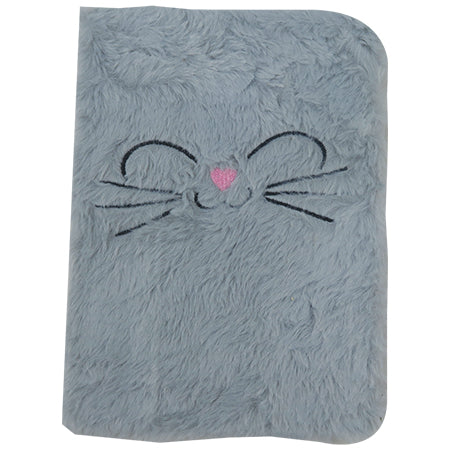 Soft touch notebook - Cat Face