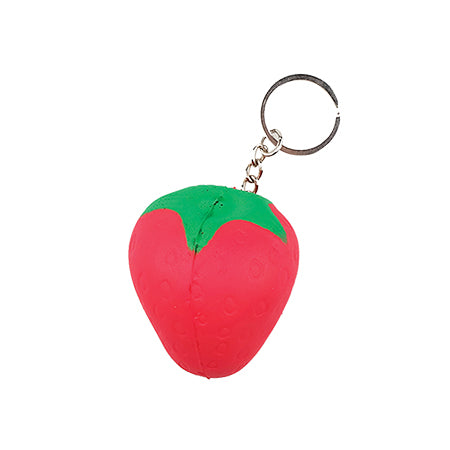 Squishy Strawberry Keyring