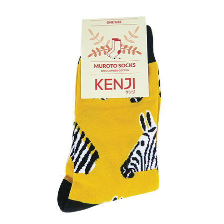 Sumoto Socks - Y Zebra Head