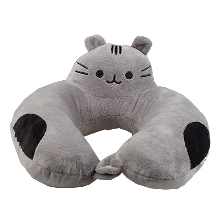 Yabu Travel Pillow - Grey Cat